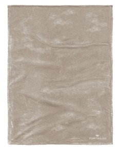 TOM TAILOR Koc flauszowy 150x200 taupe